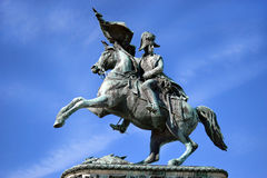 Equestrian monument of Archduke Charles, Vienna Royalty Free Stock Image