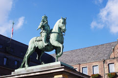 Equestrian monument from Jan Wellem Royalty Free Stock Images