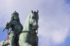 Equestrian monument from Jan Wellem Royalty Free Stock Image