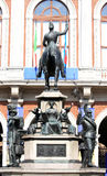 Equestrian monument to Carlo Alberto, Turin, Italy Royalty Free Stock Photos