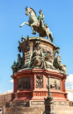 Equestrian monument to Emperor Nicholas I (1859) Stock Image