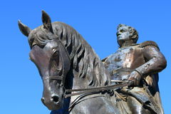 Equestrian monument to General Yermolov in Pyatigorsk, Russia Royalty Free Stock Images