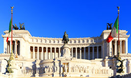 Equestrian monument to Victor Emmanuel II Royalty Free Stock Image