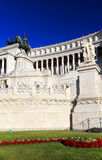 Equestrian monument to Victor Emmanuel II Stock Photo