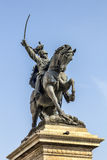 Equestrian monument to Victor Emmanuel II. In Venice Stock Photography