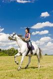 Equestrian On Horseback Royalty Free Stock Photo