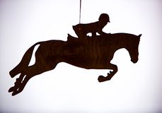 Equestrian Ornament Stock Images