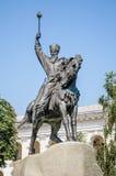 Equestrian of Petro Konashevych-Sahaidachny Royalty Free Stock Image