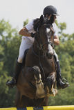 Equestrian race Stock Images