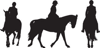 Equestrian rider Royalty Free Stock Image