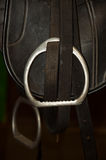 Equestrian  saddle Stock Images