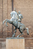 Equestrian sculpture Royalty Free Stock Image