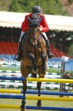 Equestrian Show Jumping. Vimeiro Equestrian Show Jumping - XV International Show Jumping (POR) 24-27Jul2008 Rider-Francisco Mendes Coelho, POR ;Horse-Jazz Stock Photography