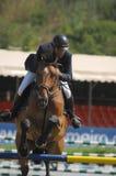 Equestrian Show Jumping. Vimeiro Equestrian Show Jumping - XV International Show Jumping (POR) 24-27Jul2008 Rider-Mario Suarez Junquera, ESP ;Horse-Cameron Stock Images