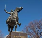 Equestrian of Simón Bolivar Statue in Washington, D.C. Royalty Free Stock Photo