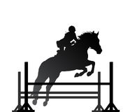 Equestrian sport Royalty Free Stock Images