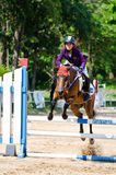 Equestrian sport. Stock Images