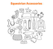 Equestrian Sport Equipment Stock Images