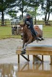 Equestrian sport - Eventing Stock Images