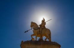 Equestrian statua fotografia royalty free