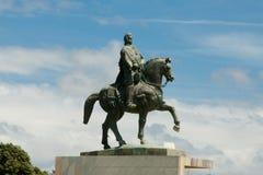Equestrian statua John VI zdjęcia stock