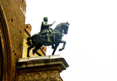 Equestrian statue Stock Photography