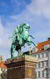 The equestrian statue of Absalon, Copenhagen Stock Images