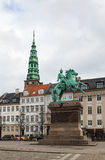 The equestrian statue of Absalon, Copenhagen Royalty Free Stock Image