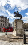 Equestrian statue of Charles I, Charing Cross Royalty Free Stock Image