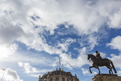 Equestrian statue of Charles I, Charing Cross Royalty Free Stock Photos