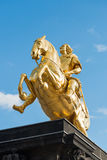 Equestrian Statue Dresden Royalty Free Stock Photography