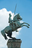 Equestrian Statue Duesseldorf Royalty Free Stock Photos