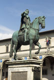 Equestrian Statue of Duke Ferdinando I de Medici, Florence, Ital Royalty Free Stock Images