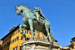 Statue of Ferdinando I Stock Images