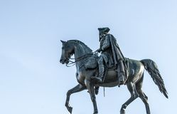 Equestrian statue of Frederick the Great royalty free stock photography