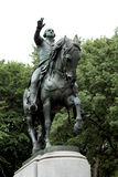 Equestrian statue of General George Washington, in the south sid Royalty Free Stock Photos