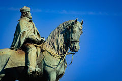 Equestrian Statue Of Giuseppe Garibaldi Royalty Free Stock Photography