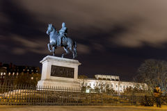 Equestrian statue of Henry IV Royalty Free Stock Photo