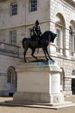 Equestrian statue at Horse Guards Parade in Whitehall,London, England, Europe Royalty Free Stock Photography