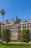 Equestrian Statue Of Jaime I, Valencia, Spain Royalty Free Stock Photo