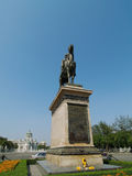 Equestrian statue of the King, Bangkok Royalty Free Stock Images
