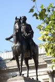 Equestrian statue of King George IV, Trafalgar Square, London, England, Europe Royalty Free Stock Images