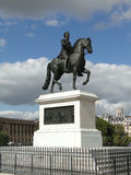 Equestrian statue of King Henry IV of France Royalty Free Stock Image