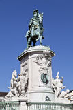 Equestrian Statue of King Jose I Stock Image