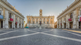 Equestrian Statue of Marcus Aurelius Stock Photos