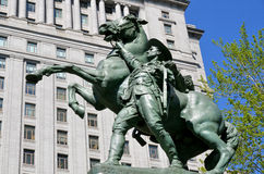 Equestrian statue Royalty Free Stock Photos