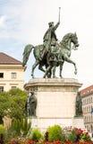 Equestrian Statue in Munich Stock Images