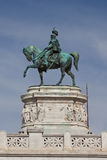 Equestrian statue Rome Italy Royalty Free Stock Photos
