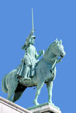 Equestrian Statue of Saint Joan of Arc Royalty Free Stock Photo
