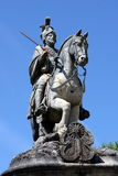 Equestrian statue of Saint Longinus Royalty Free Stock Photos